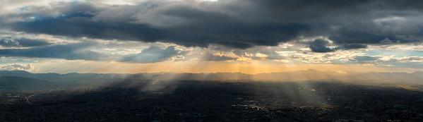 Bogota as seen from Monserrate