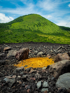 Near the Cerro Negro Volcano