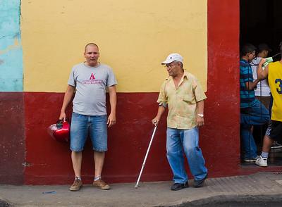 Street scene, Leon