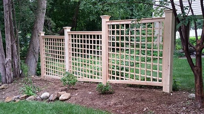 "873 - NJ - Stepped 5"" Horizontal/Vertical Lattice"