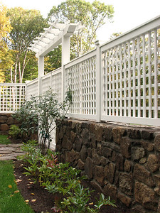 177 - 348939 - New Canaan CT - Lattice with Custom Arbor