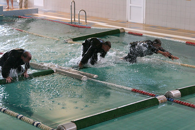 Swimming Obstacle Course