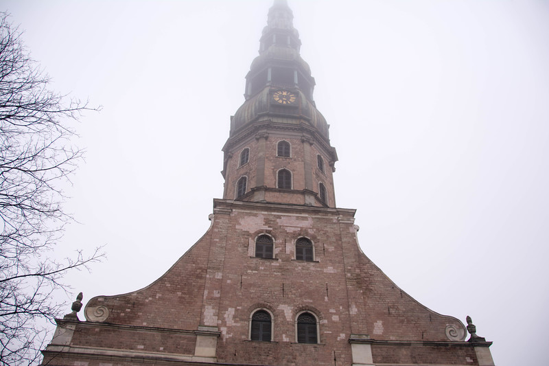st peter's church riga latvia