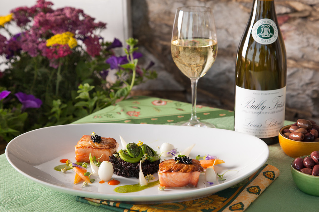 Lauberge Food entrees 22 XL Capturing the Essence of Provence...in the Heart of Virginia
