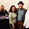 Blackjack dealer Gail Chauncey of Framingham, Gianna Ramirez of Somerville, Thomas Ahearn and Gloria Ramirez, both of Lowell