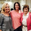 Mary Cain of New Jersey, daughter Kathy Ramirez and Gloria Leahy, both of Lowell