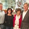 The Leahy family – son John Leahy and his wife Joni, Celebration of Life founder Gloria Leahy and chairman, her son Daniel Leahy II, all of Lowell