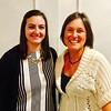 Mustard Seed staff members Melissa LaNeve and Laura Doherty, both of Franklin