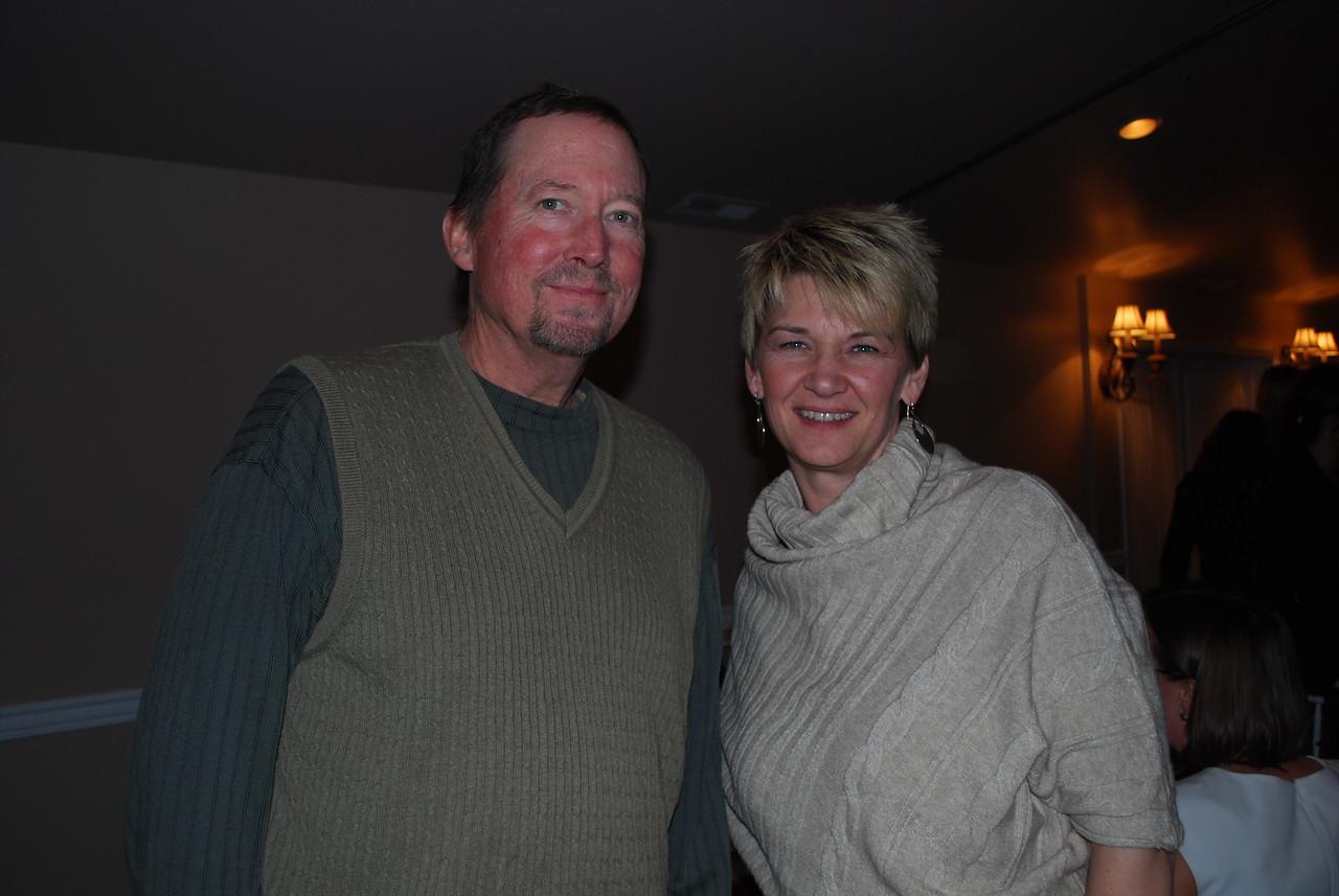 Bob Kohler and Stephanie Wilson-Scott