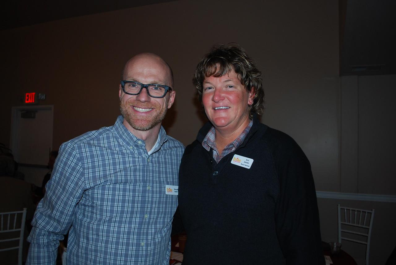 Kenneth Medlin and Erin Jensen