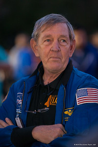 Astronaut Mike McCulley