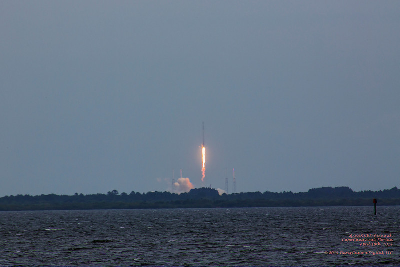 Launch of SpaceX CRS-3