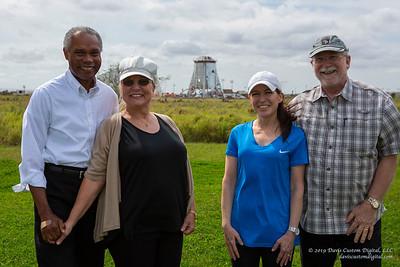 Ray and Maria Pointer with Maryellen and John Davis