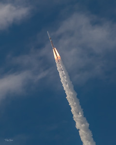 """""""GPS 3 SV02 on a Delta 4 Punching Through the Clouds"""""""