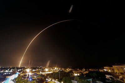"""STP-2 Aboard a SpaceX Falcon Heavy with Two First Stage Rockets Returning to Landing Zones #1 and #2"""