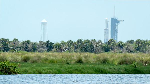 STP-2 on a SpaceX Falcon Heavy Test Firing Complete SLC-39A Cape Canaveral Air Force Station Canaveral National Seashore, Florida