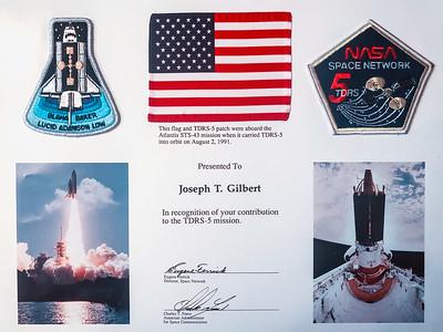 """""""TDRS-5 Aboard Atlantis STS-43"""""""