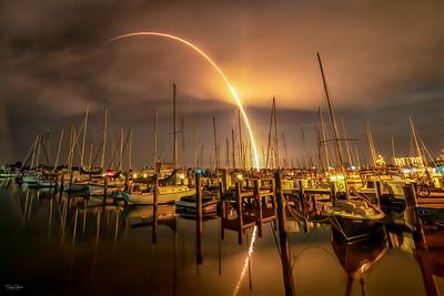 Starlink 9/BlackSky Global Aboard a SpaceX Falcon 9