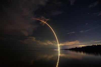 SpaceX Falcon 9 TelStar 18V