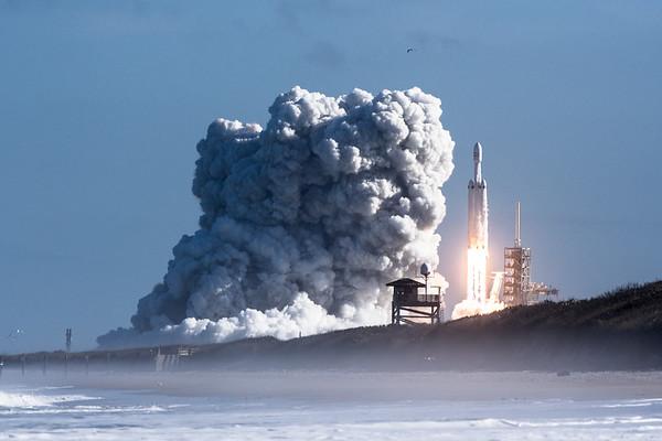 SpaceX Falcon Heavy Demo