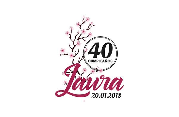 Laura 40 cumpleaños - 20 enero 2018