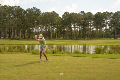 Green on Green Golfer at Laura S Walker