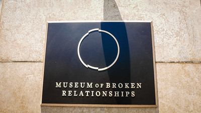 Museum of Broken Relationships LA 7/5/16