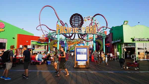 Santa Monica Pier 7/1/16