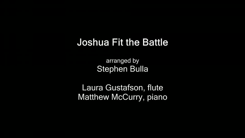 Joshua Fit the Battle