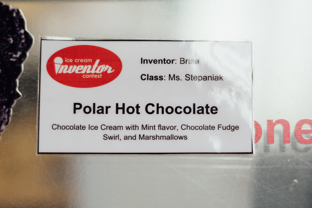 . Polar Hot Chocolate, one of the contest flavors. (Bob Wooley/Trail-Gazette)