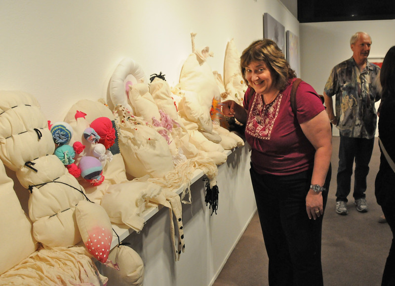 Karen really likes this exhibit.