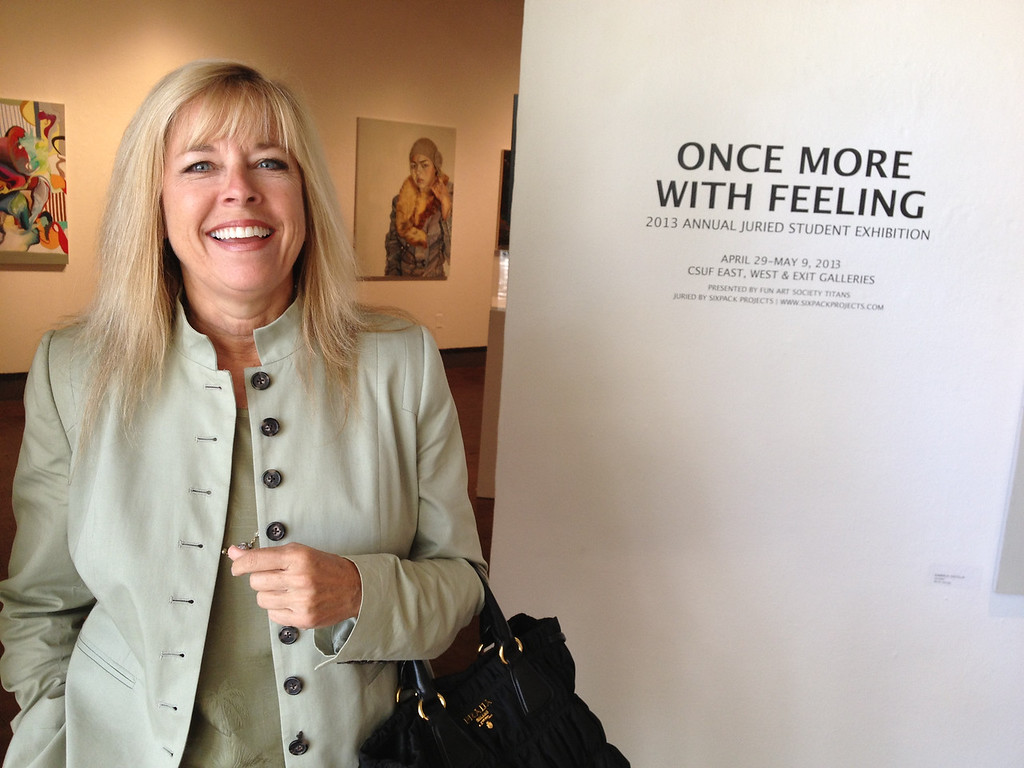 Once More With Feeling Juried Art Exhibit, CSUF West Gallery<br /> Jean Pasco