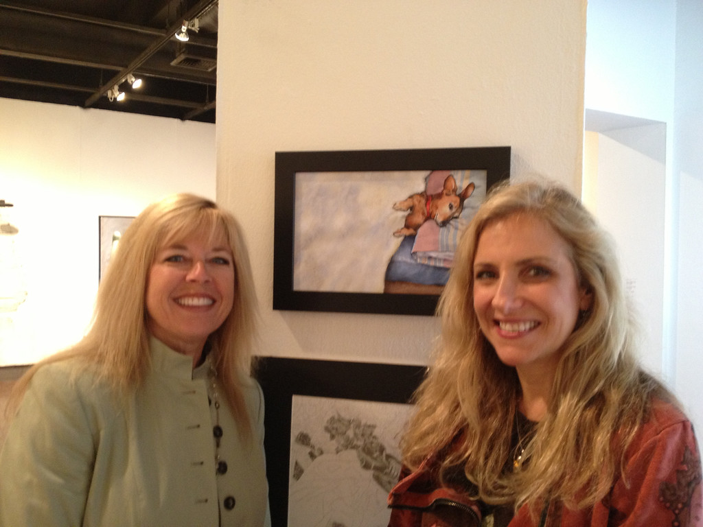Once More With Feeling Juried Art Exhibit, CSUF West Gallery - Jean Pasco and Laura Hoffman