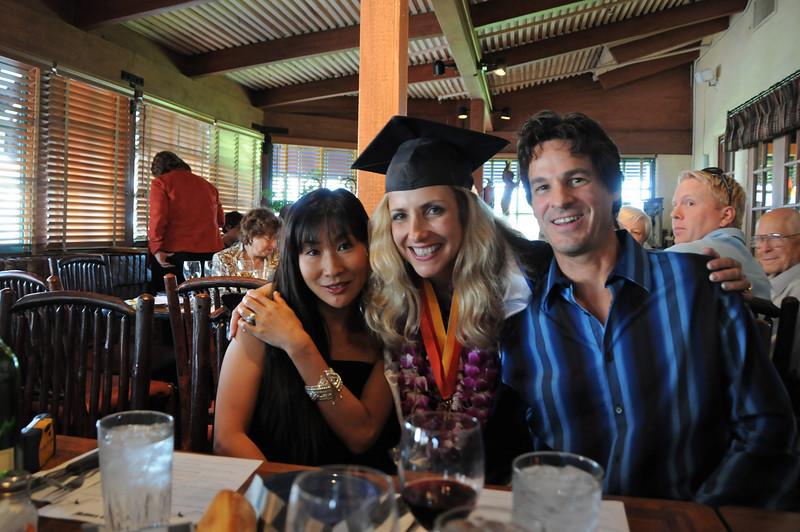 Laura with Saori & Michael