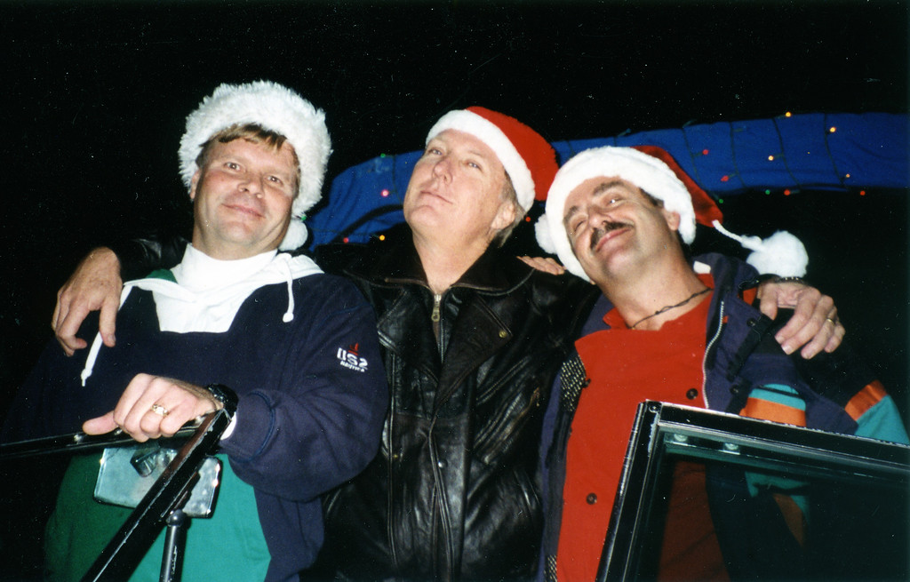 The Men on the Boat<br /> Bill Nagy, Ted Hoffman and Joel Pasco<br /> Naples<br /> Christmas 1994