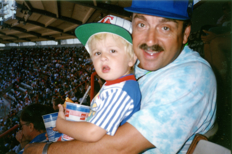 Andy & Joel Pasco go to the Ball Game<br /> 1993