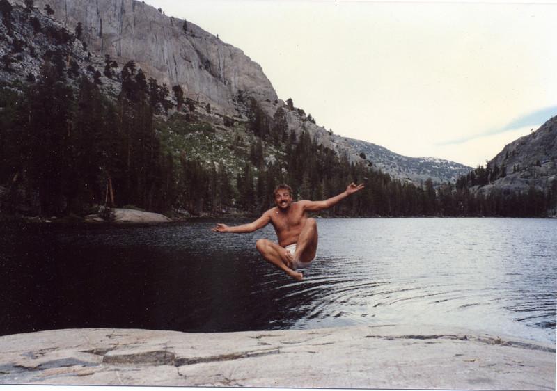 Joel Pasco in the Sierras