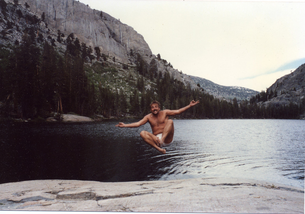 Joel Pasco in the Sierras