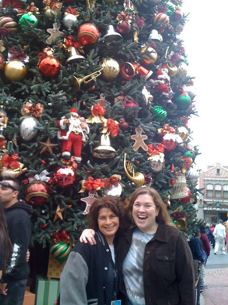 Celebrating the end of finals at Disneyland!<br /> Wendy Grieb & Barbara Malley