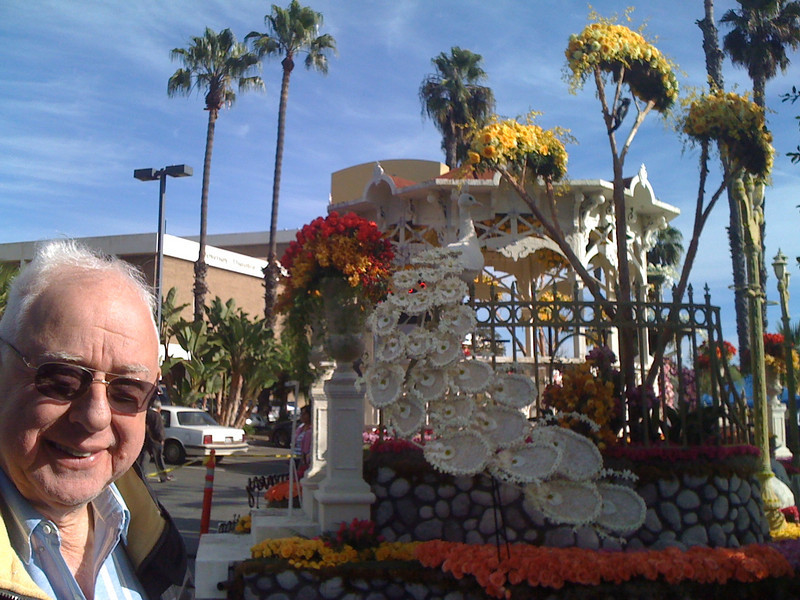 Dad and the float