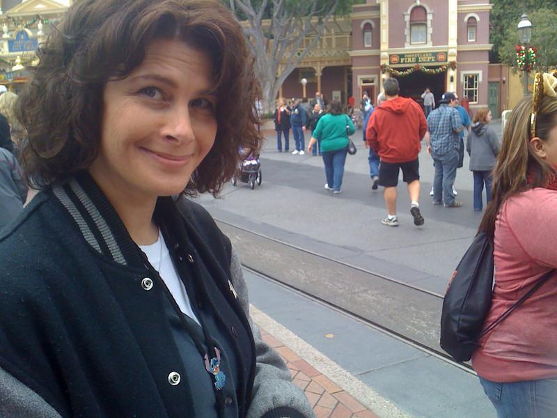 Wendy Grieb<br /> Happy finals are over<br /> Disneyland Main Street