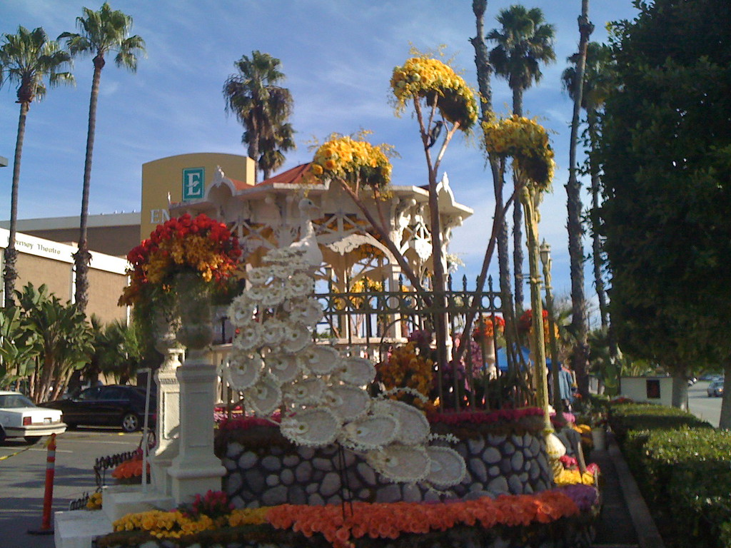Downey's Rose Parade Float
