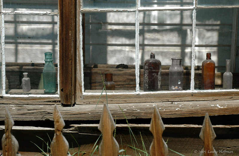 Window Detail at Bodie