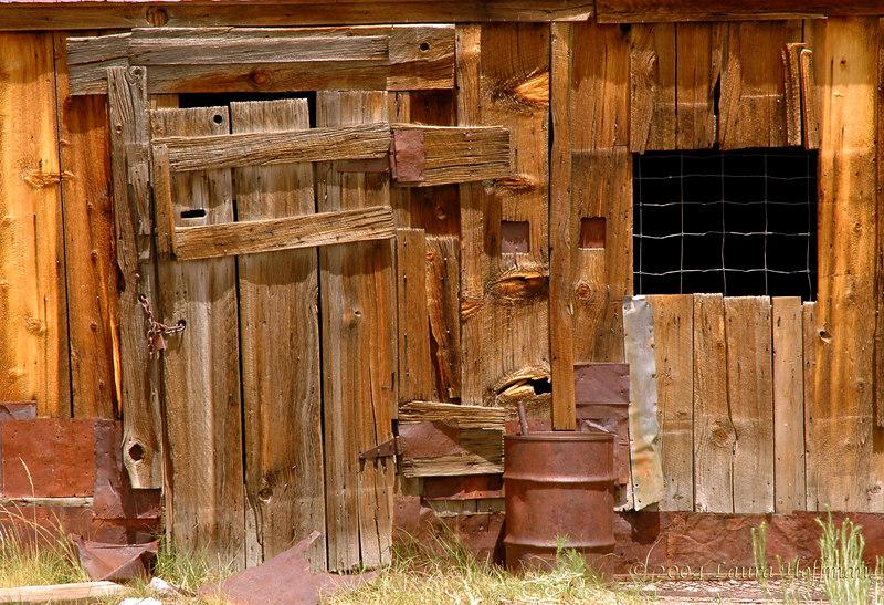 Bodie Wood House Detail