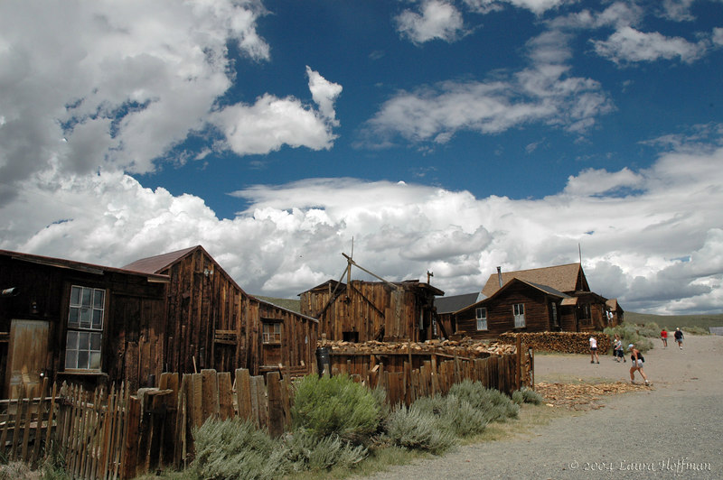 A street in Bodie