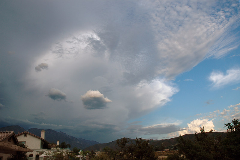 Right before the thunderstorm, Yucaipa California 7-22-06