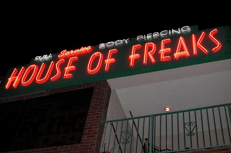 House of Freaks, Los Angeles California