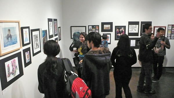 1st Annual CSUF Illustration Show 2013