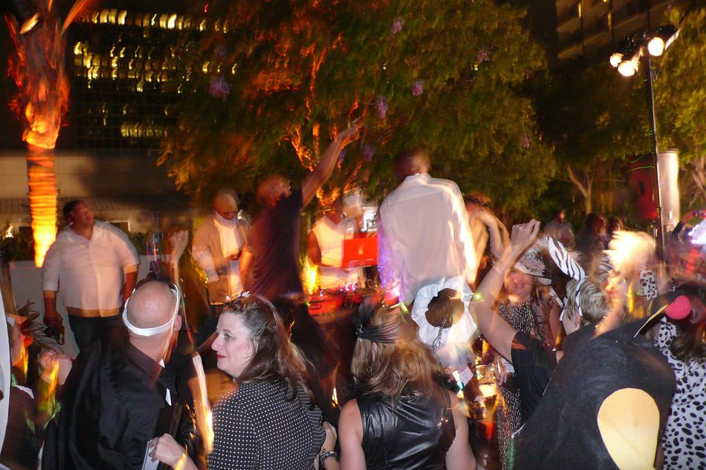 SCBWI 2013 Black & White gala dance.
