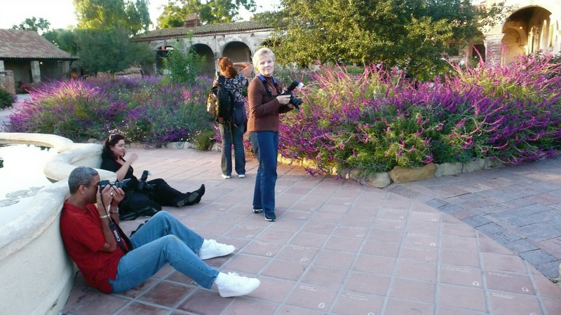 Wrapping Up the Shoot<br /> Mission San Juan Capistrano